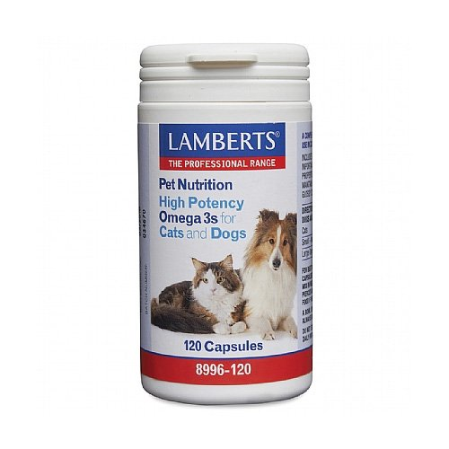 Lamberts High Potency Omega 3s for Dogs and Cats for Supplements